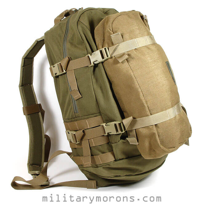 The Kifaru long pocket is a good sized extension for the ILBE assault pack.