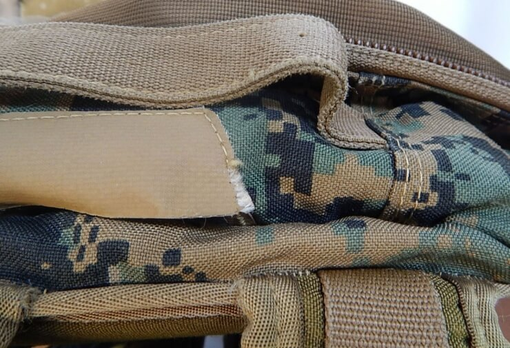 ILBE assault pack detail